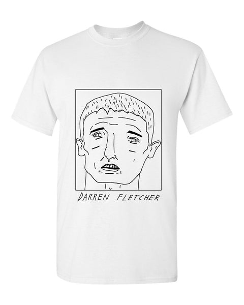 Badly Drawn Darren Fletcher T-shirt - Stoke City FC