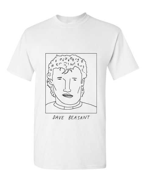 Badly Drawn Dave Beasant T-shirt - 1994 Southampton