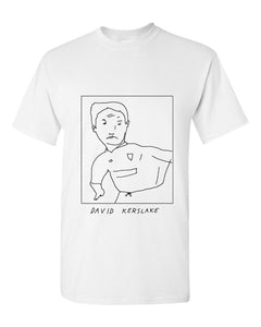 Badly Drawn David Kerslake T-shirt - 1994 Tottenham Hotspur