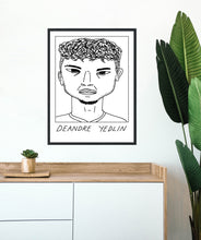 Load image into Gallery viewer, Badly Drawn Footballers - Deandre Yedlin - Poster - 3 FOR 2