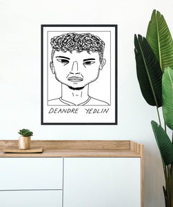 Badly Drawn Footballers - Deandre Yedlin - Poster - 3 FOR 2
