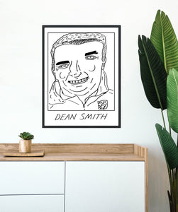 Badly Drawn Footballers - Dean Smith - Poster - 3 FOR 2