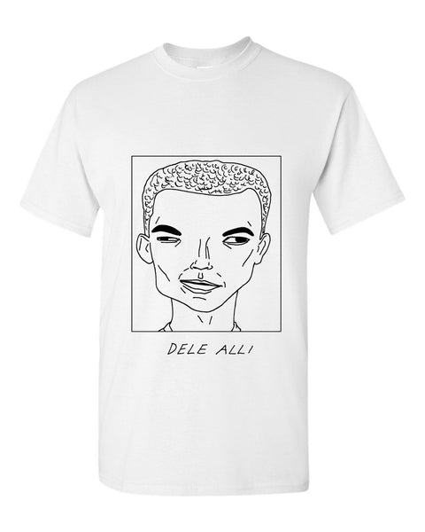 Badly Drawn Dele Alli T-shirt - Tottenham Hotspur FC