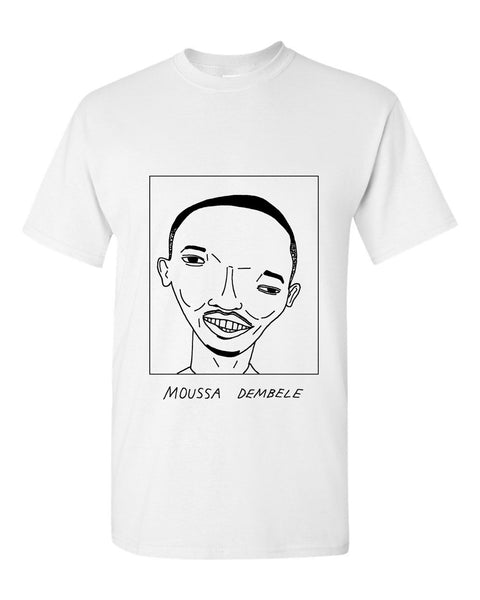 Badly Drawn Moussa Dembele T-shirt - Celtic FC