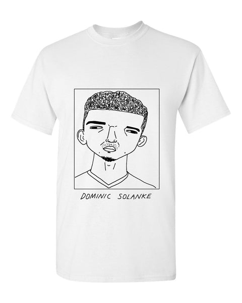 Badly Drawn Dominic Solanke T-shirt - Liverpool FC