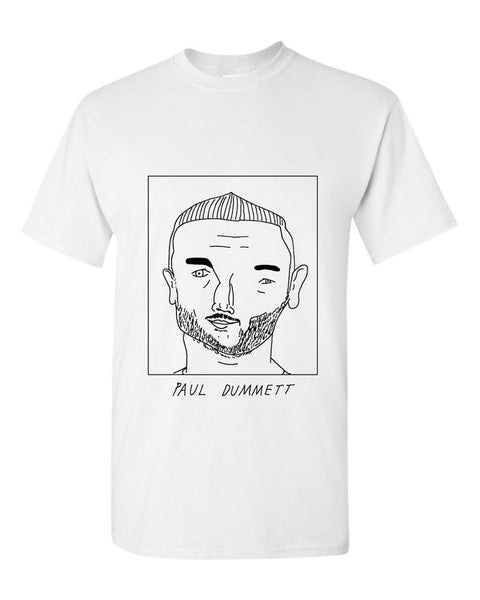 Badly Drawn Paul Dummett T-shirt - Newcastle United FC