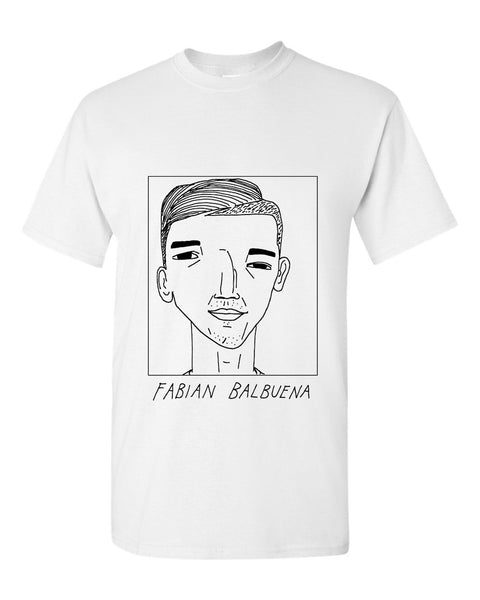 Badly Drawn Fabian Balbuena T-shirt - West Ham United FC