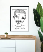 Load image into Gallery viewer, Badly Drawn Footballers - Fabian Schar - Poster - 3 FOR 2