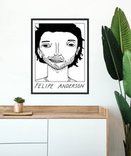 Load image into Gallery viewer, Badly Drawn Footballers - Felipe Anderson - Poster - 3 FOR 2
