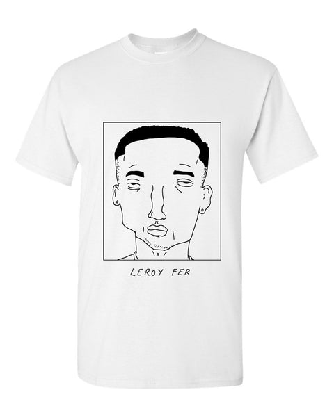 Badly Drawn Leroy Fer T-shirt - Swansea City AFC