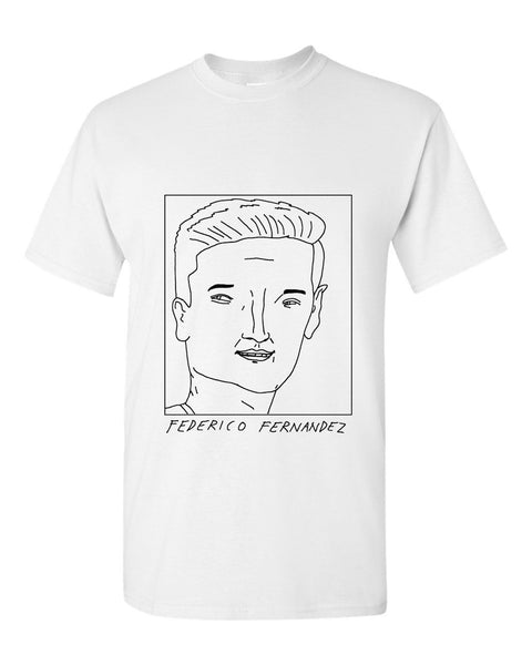 Badly Drawn Federico Fernandez T-shirt - Swansea City AFC