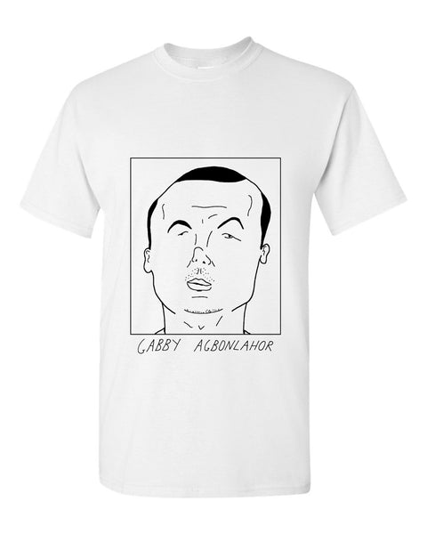 Badly Drawn Gabby Agbonlahor T-shirt - Aston Villa FC