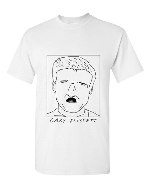 Badly Drawn Gary Blissett T-shirt - 1994 Wimbledon