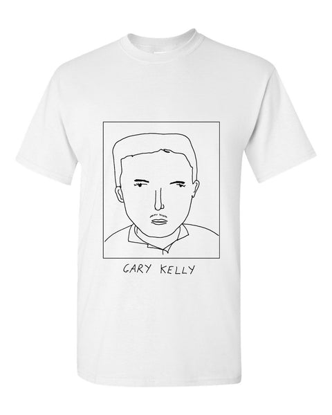 Badly Drawn Gary Kelly T-shirt - 1994 Leeds United