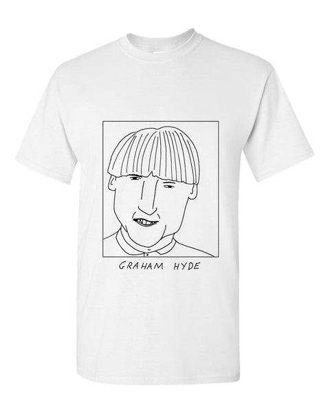 Badly Drawn Graham Hyde T-shirt - 1994 Shef Wed