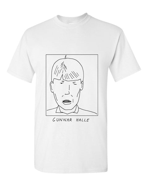 Badly Drawn Gunnar Halle T-shirt - 1994 Oldham