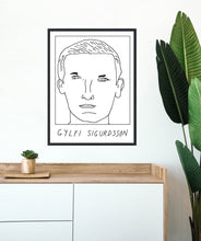 Load image into Gallery viewer, Badly Drawn Footballers - Gylfi Sigurdsson - Poster - 3 FOR 2