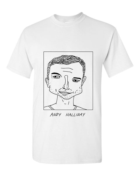 Badly Drawn Andy Halliday T-shirt - Rangers FC