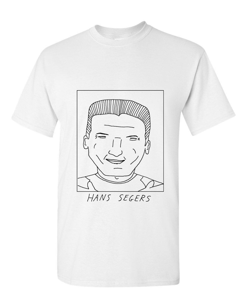 Badly Drawn Hans Segers T-shirt - 1994 Wimbledon