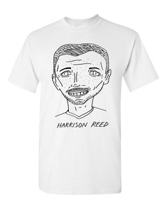 Badly Drawn Harrison Reed T-shirt