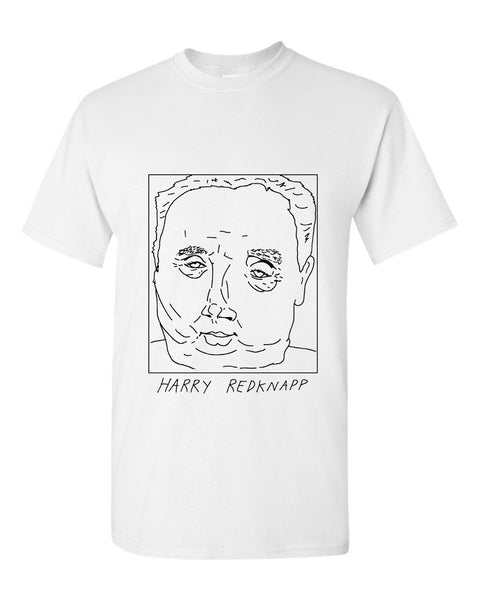 Badly Drawn Harry Redknapp T-shirt - Birmingham City FC