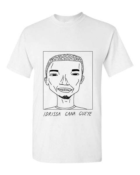 Badly Drawn Idrissa Gana Gueye T-shirt - Everton FC