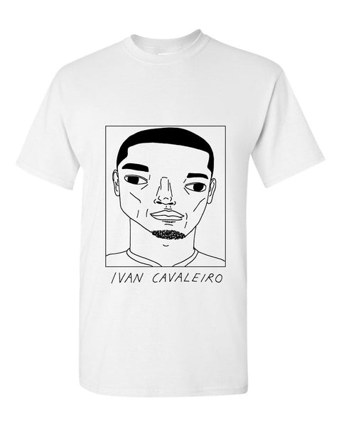 Badly Drawn Ivan Cavaleiro T-shirt - Wolves