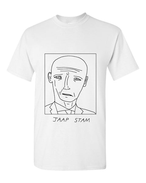 Badly Drawn Jaap Stam T-shirt - Reading FC