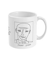 Load image into Gallery viewer, Badly Drawn Footballers Mug - Jaap Stam