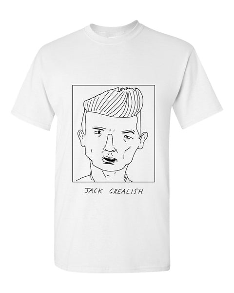 Badly Drawn Jack Grealish T-shirt - Aston Villa FC