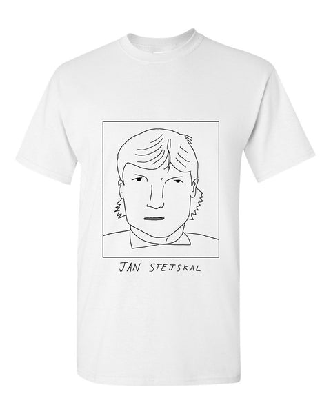 Badly Drawn Jan Stejskal T-shirt - 1994 QPR