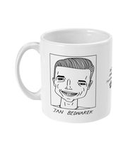 Load image into Gallery viewer, Badly Drawn Footballers Mug - Jan Bednarek