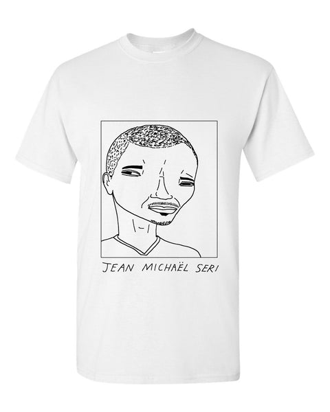 Badly Drawn Jean Michael Seri T-shirt - Fulham FC