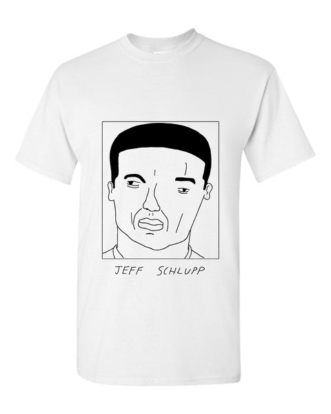Badly Drawn Jeff Schlupp T-shirt - Crystal Palace FC