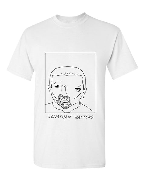 Badly Drawn Jonathan Walters T-shirt - Burnley FC