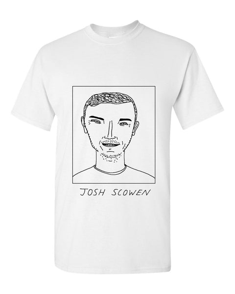 Badly Drawn Josh Scowen T-shirt - QPR