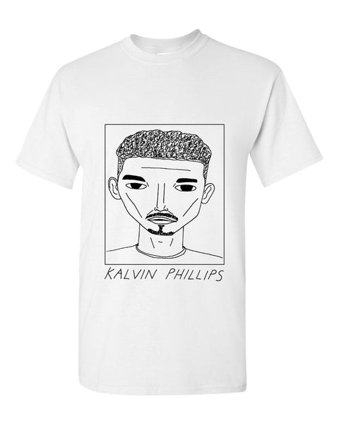 Badly Drawn Kalvin Phillips T-shirt - Leeds United FC