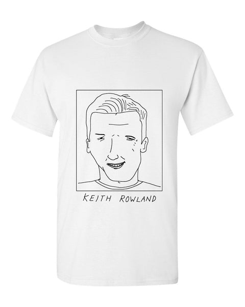 Badly Drawn Keith Rowland T-shirt - 1994 West Ham