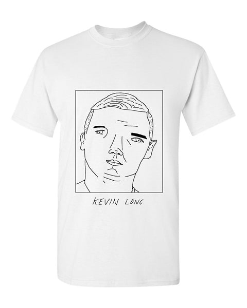 Badly Drawn Kevin Long T-shirt - Burnley FC