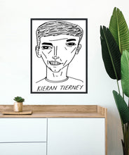 Load image into Gallery viewer, Badly Drawn Footballers - Kieran Tierney - Poster - 3 FOR 2