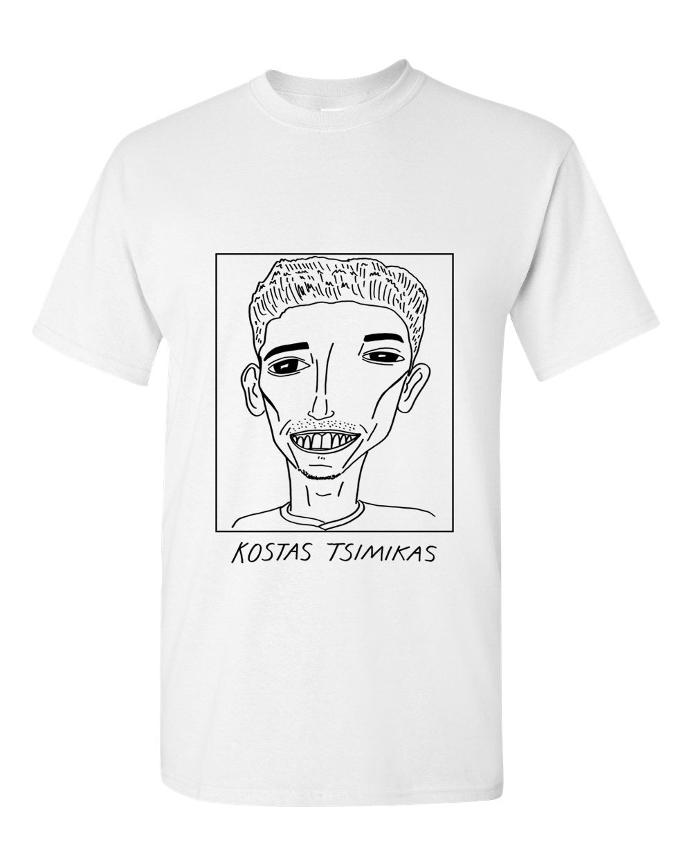 Badly Drawn Footballers T-shirt - Kostas Tsimikas