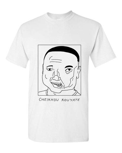 Badly Drawn Cheikhou Kouyate T-shirt - Crystal Palace FC