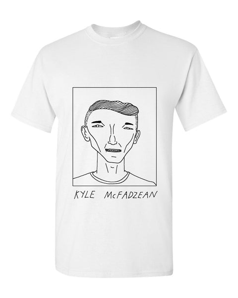 Badly Drawn Kyle McFadzean T-shirt - Burton Albion FC
