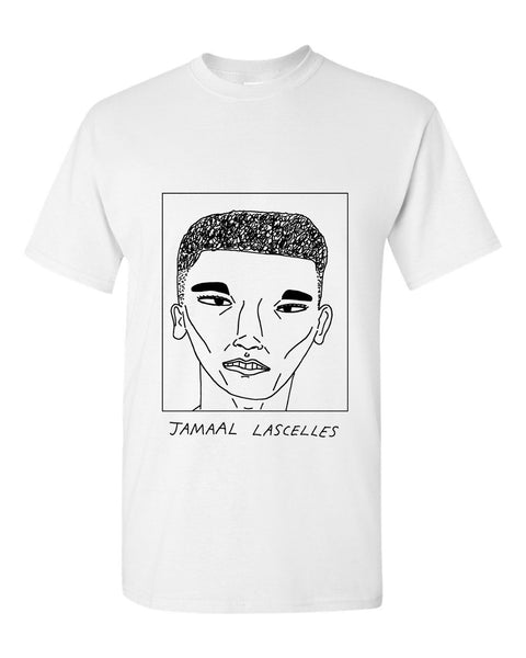 Badly Drawn Jamaal Lascelles T-shirt - Newcastle United FC