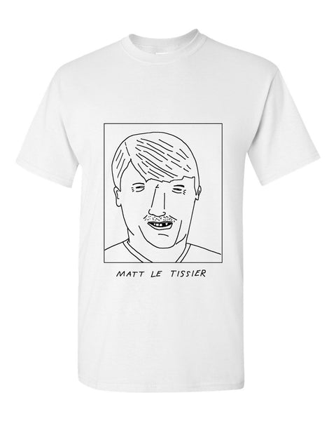 Badly Drawn Matt Le Tissier T-shirt