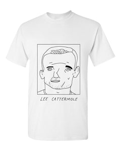 Badly Drawn Lee Cattermole T-shirt - Sunderland AFC
