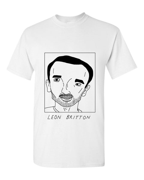 Badly Drawn Leon Britton T-shirt - Swansea City AFC