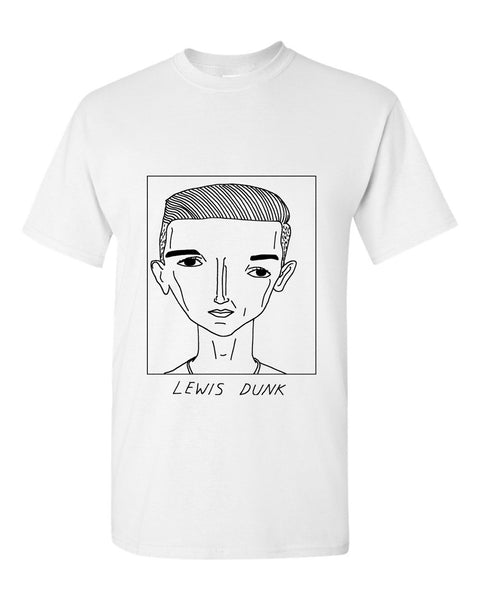 Badly Drawn Lewis Dunk T-shirt - Brighton & Hove Albion F.C.