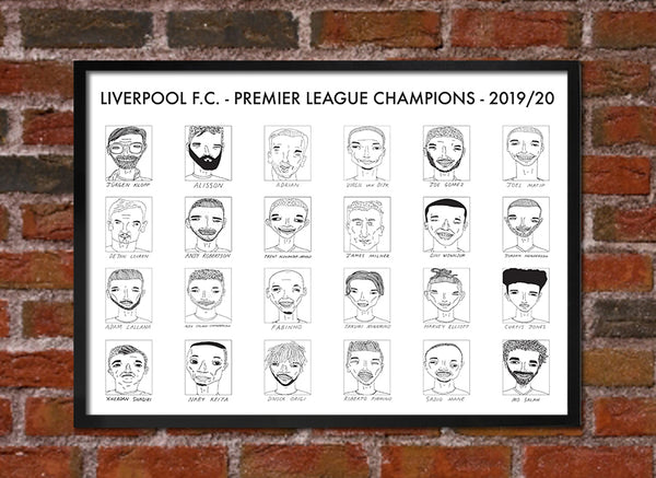 Liverpool F.C. - Premier League Champions 2019/20