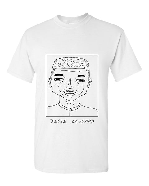 Badly Drawn Jesse Lingard T-shirt
